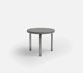 Homecrest Breeze 24 Inch Round End Table - 3024R