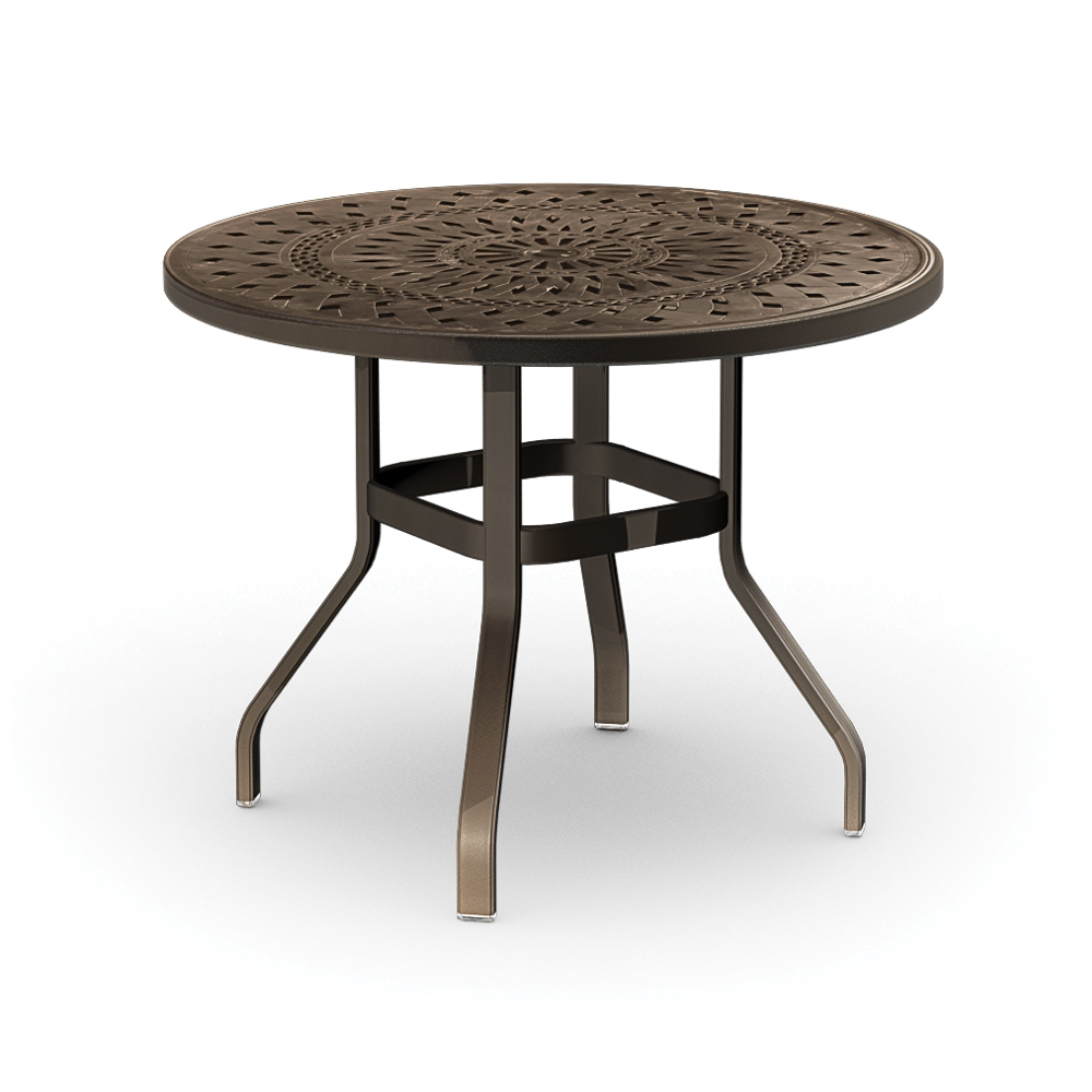 Homecrest Camden Cast 42 inch Round Balcony Table - 1442RB