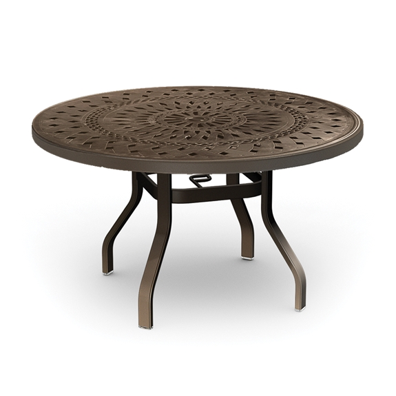 Homecrest Camden Cast 54 inch Round Dining Table - 1454RD
