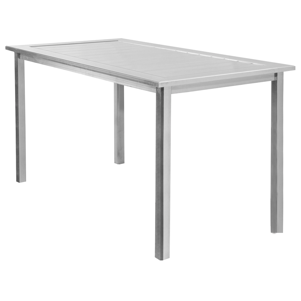 Homecrest Dockside 32 inch by 64 inch Rectangle Balcony Table - 313264B