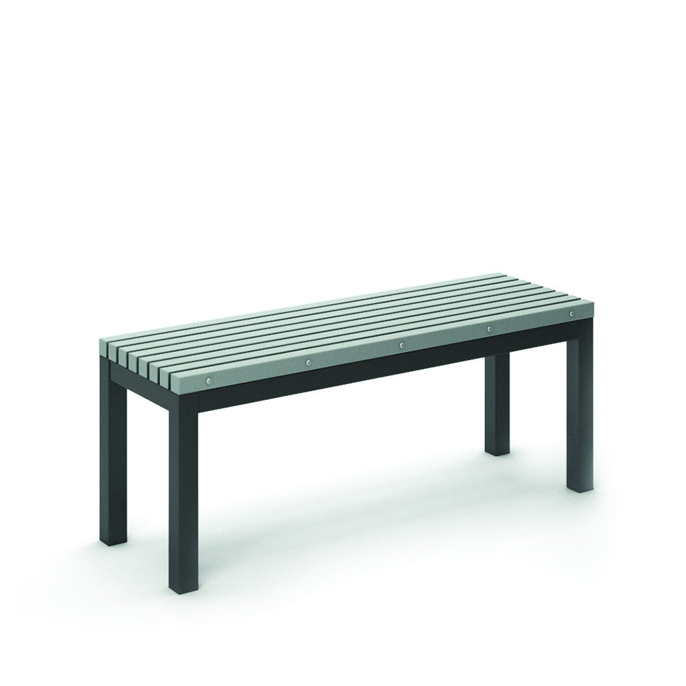 Surprising Homecrest Eden 15 5 X 48 Rectangular Cafe Bench 261948 Gmtry Best Dining Table And Chair Ideas Images Gmtryco