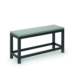 "Homecrest Eden 15.5"" x 48"" Rectangular Balcony Bench - 262348"