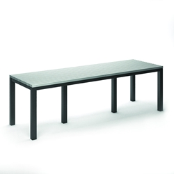"Homecrest Eden 35.5"" x 110"" Rectangular Balcony Table - 2634110"