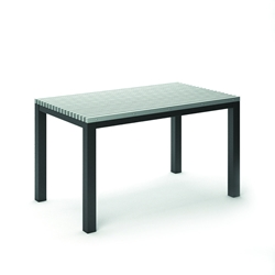 "Homecrest Eden 35.5"" x 60"" Rectangular Balcony Table - 263460"