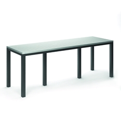 "Homecrest Eden 35.5"" x 110"" Rectangular Bar Table - 2640110"