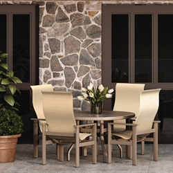 Homecrest Elements Sling Modern Dining Set for 4 - HC-ELEMENTS-SET6