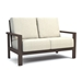 Elements Cushion Patio Sofa Fire Pit Set - HC-ELEMENTS-SET3