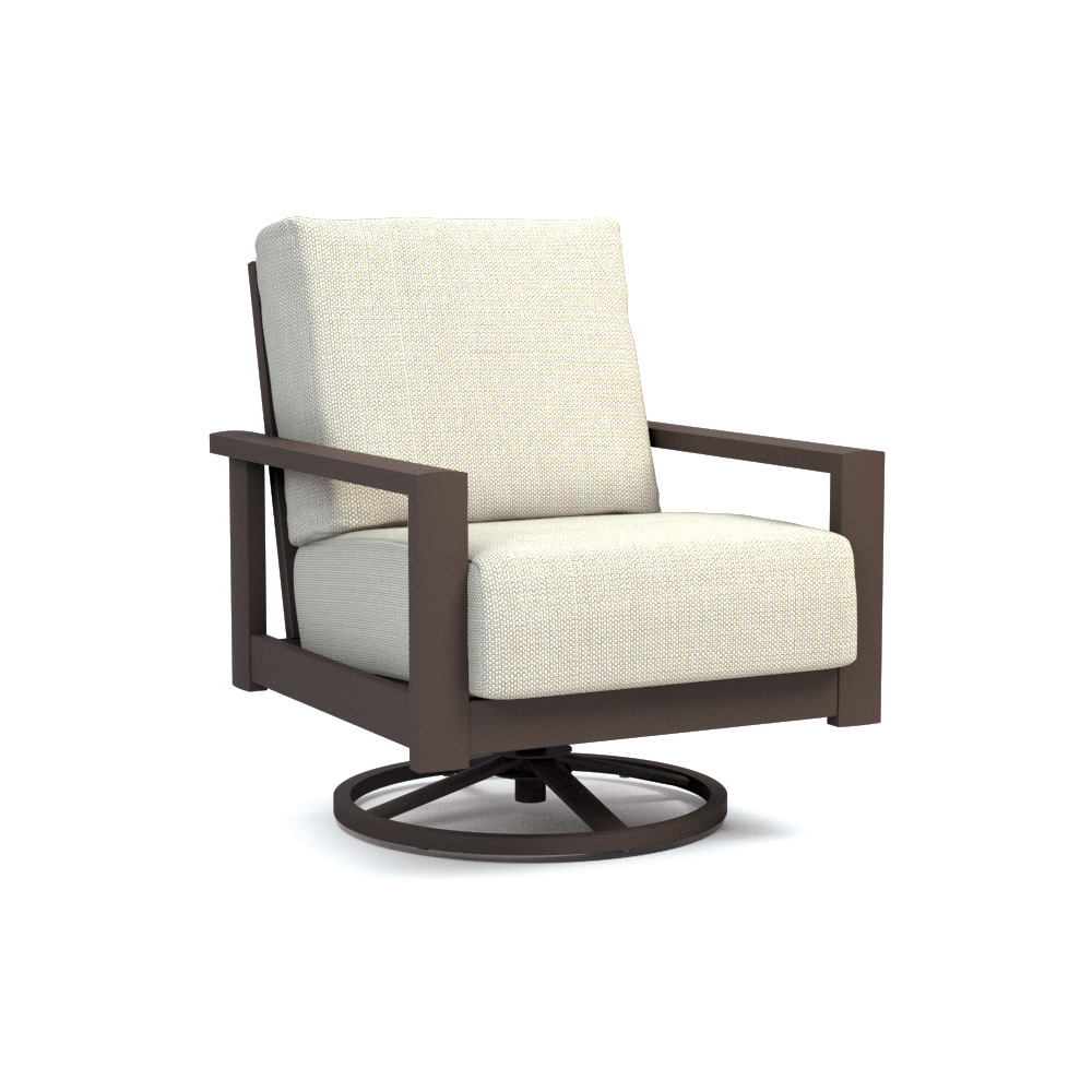Homecrest Elements Cushion Swivel Rocker Chat Chair - 5190A