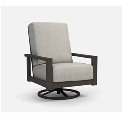 Homecrest Elements Cushion High Back Swivel Rocker Chat Chair - 5192A
