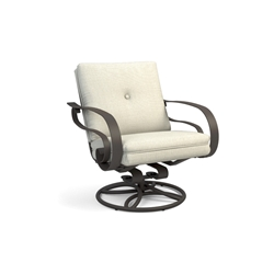 Homecrest Emory Cushion Low Back Swivel Rocker Chat Chair - 2M90A