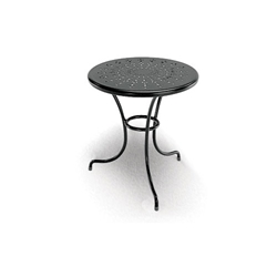 Homecrest Espresso 16 Inch Round End Table - 09160