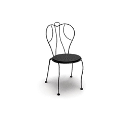 Homecrest Espresso Stackable Side Chair - 90590