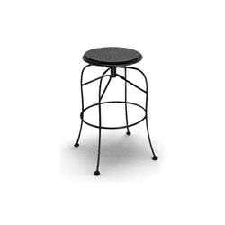 Homecrest Espresso Backless Swivel Bar Stool - 91240