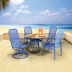 Homecrest Florida Mesh Patio Dining Set - HC-FLORIDAMESH-SET2