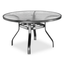Homecrest Glass 48 inch Round Dining Table - 1749501