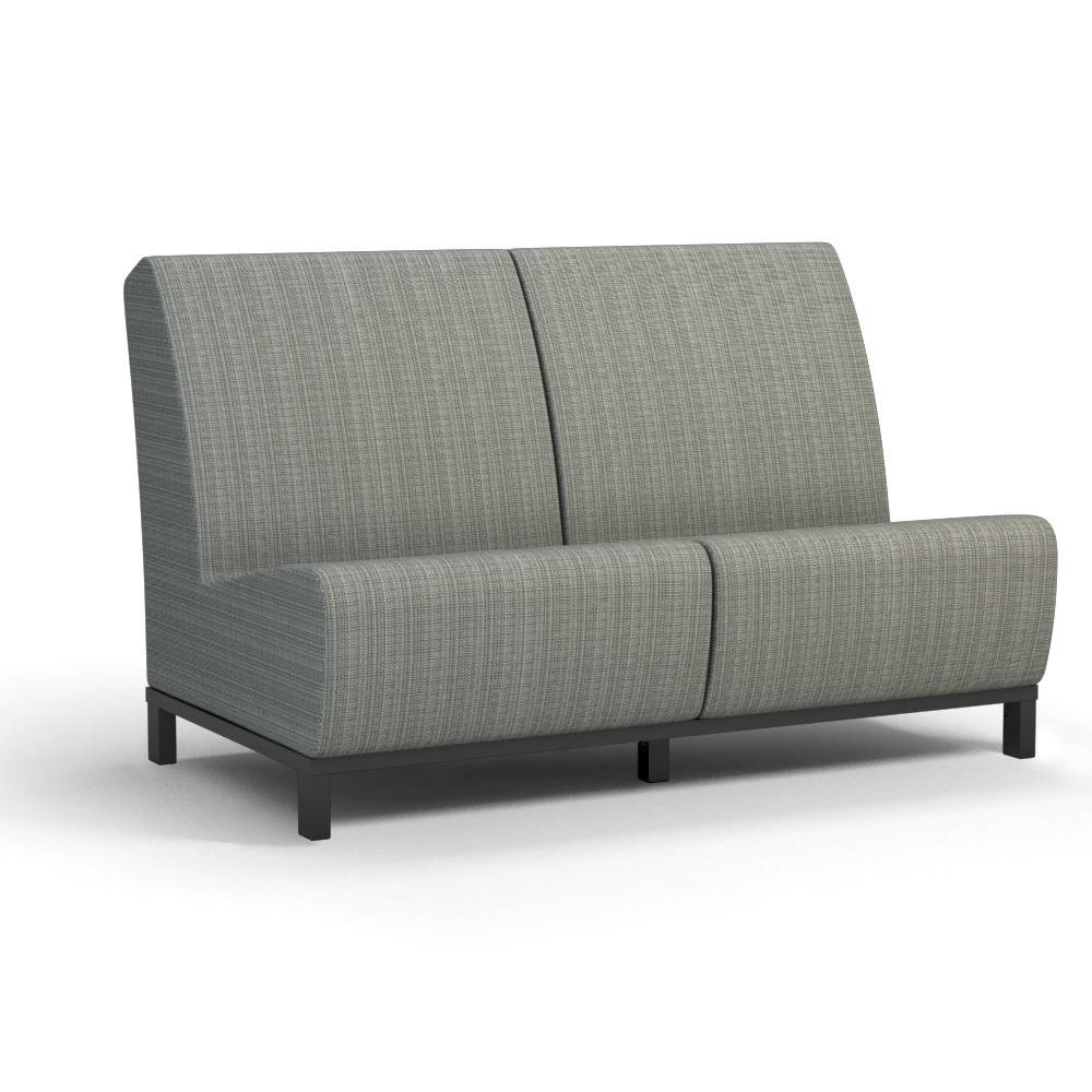 Homecrest Grace Air Armless Loveseat - 51AR42N