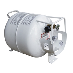 Homecrest Quick Ship Horizontal 20 lb Propane Tank - Q005269
