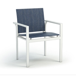 Homecrest Quick Ship Allure Stacking Cafe Arm Chair - Q12370
