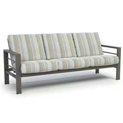 Homecrest Quick Ship Sutton Cushion Low Back Sofa - Q4543A