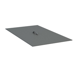 "Homecrest Quick Ship 14"" x 26.25"" Rectangle Burner Cover - Q91006"