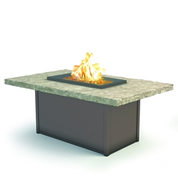 "Homecrest Sandstone 36"" x 60"" Chat Fire Pit - 893660XCSS"