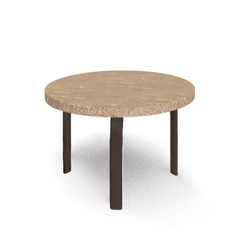 Homecrest Sandstone 24 inch round Side Table - 3724RSS