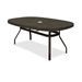 Homecrest Sandstone 44 x 67 inch Boat Balcony Table with Angled Legs - 384467BSS