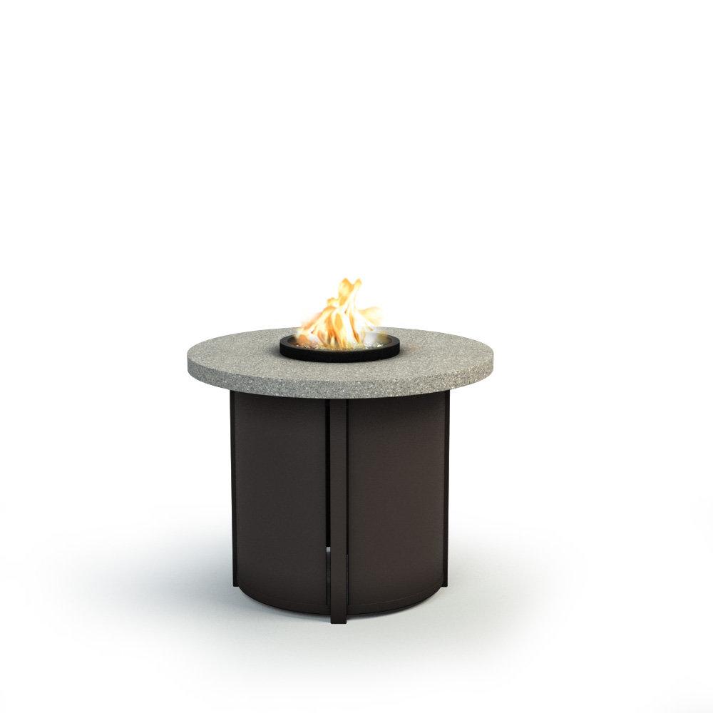Homecrest Shadow Rock 30 Quot Chat Fire Pit 3430csh