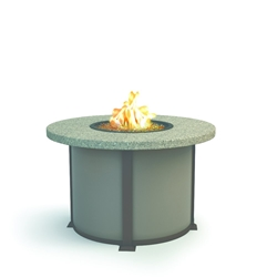 "Homecrest Shadow Rock 42"" Dining Fire Table - 4642DSH"