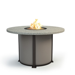 "Homecrest Shadow Rock 48"" Balcony Fire Table - 4648BSH"