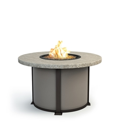 "Homecrest Slate 48"" Dining Fire Table - 4648DSL"
