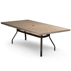 Homecrest Slate 42 inch by 82 inch Rectangle Dining Table - 374282DSL