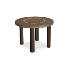 Homecrest Sorrento 24 inch round End Table - 3124RSR