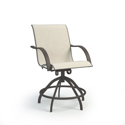 Homecrest Stella Sling Swivel Rocker Balcony Stool - 7A780