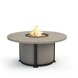 "Homecrest Stonegate 54"" Chat Fire Pit - 4654CSG"