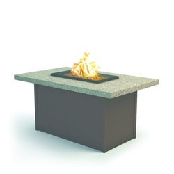 "Homecrest Stonegate 32"" x 52"" Chat Fire Pit - 893252XCSG"