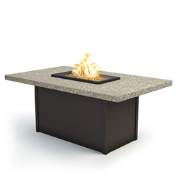 "Homecrest Stonegate 36"" x 60"" Chat Fire Pit - 893660XCSG"