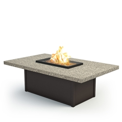 "Homecrest Stonegate 36"" x 60"" Coffee Fire Pit - 893660XLSG"