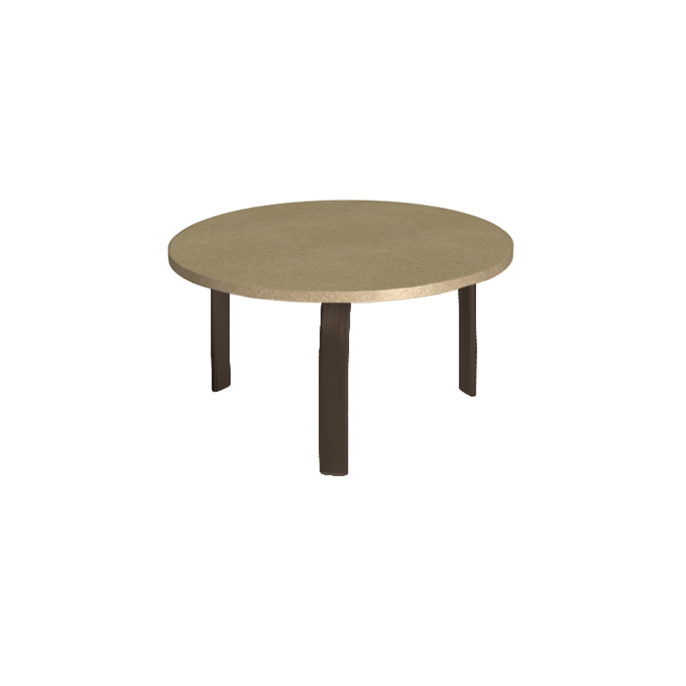 Homecrest Stonegate 24 inch Round Side Table - 3724RSG