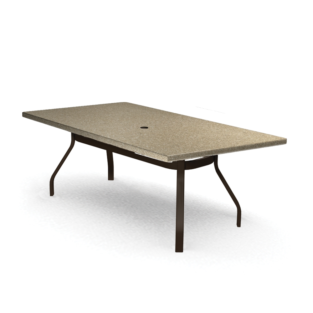 Homecrest Stonegate 42 inch by 62 inch Rectangle Dining Table - 374262DSG