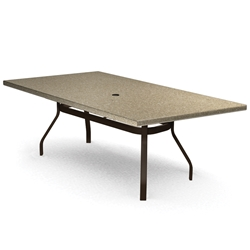 Homecrest Stonegate 42 inch by 84 inch Rectangle Dining Table - 374284DSG
