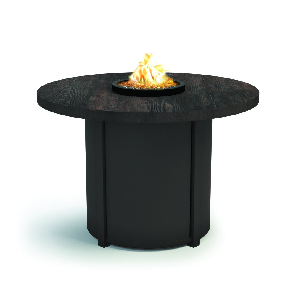 "Homecrest Timber 36"" Round Chat Fire Table - 3436CTM"