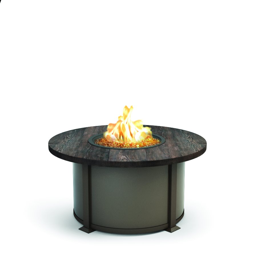 "Homecrest Timber 42"" Round Coffee Fire Pit - 4642LTM"