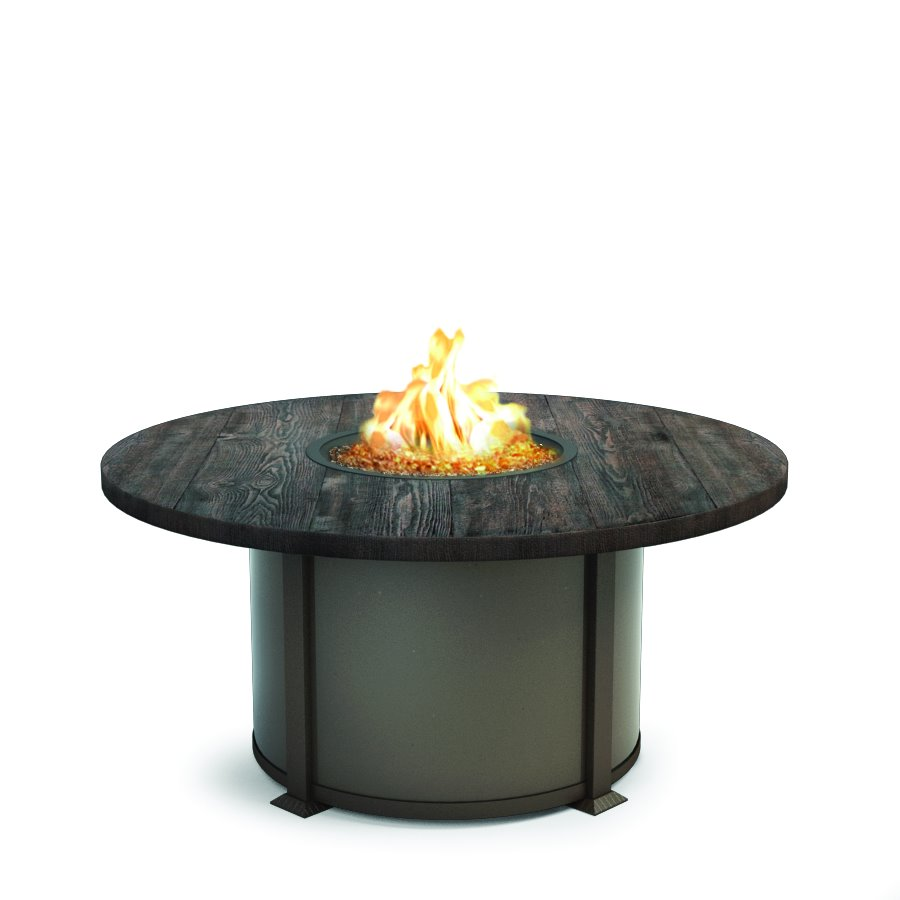 "Homecrest Timber 54"" Round Chat Fire Pit - 4654CTM"