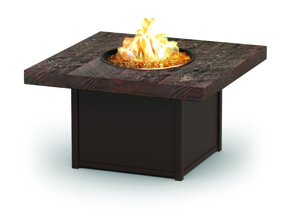 "Homecrest Timber 42"" Square Chat Fire Pit  - 8942SCTM"