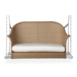 Lloyd Flanders All Seasons Settee Swing with Cushion - 124019