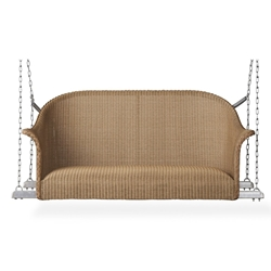 Lloyd Flanders All Seasons Settee Swing with Padded Seat - 124319