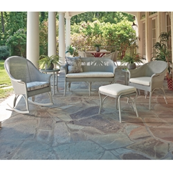 Lloyd Flanders All Seasons Wicker Patio Set - LF-ALLSEASONS-SET9