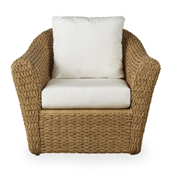 Lloyd Flanders Cayman Wicker Lounge Chair with Cushions - 281002