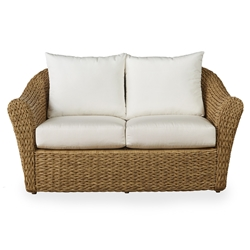 Lloyd Flanders Cayman Wicker Loveseat with Cushions - 281050